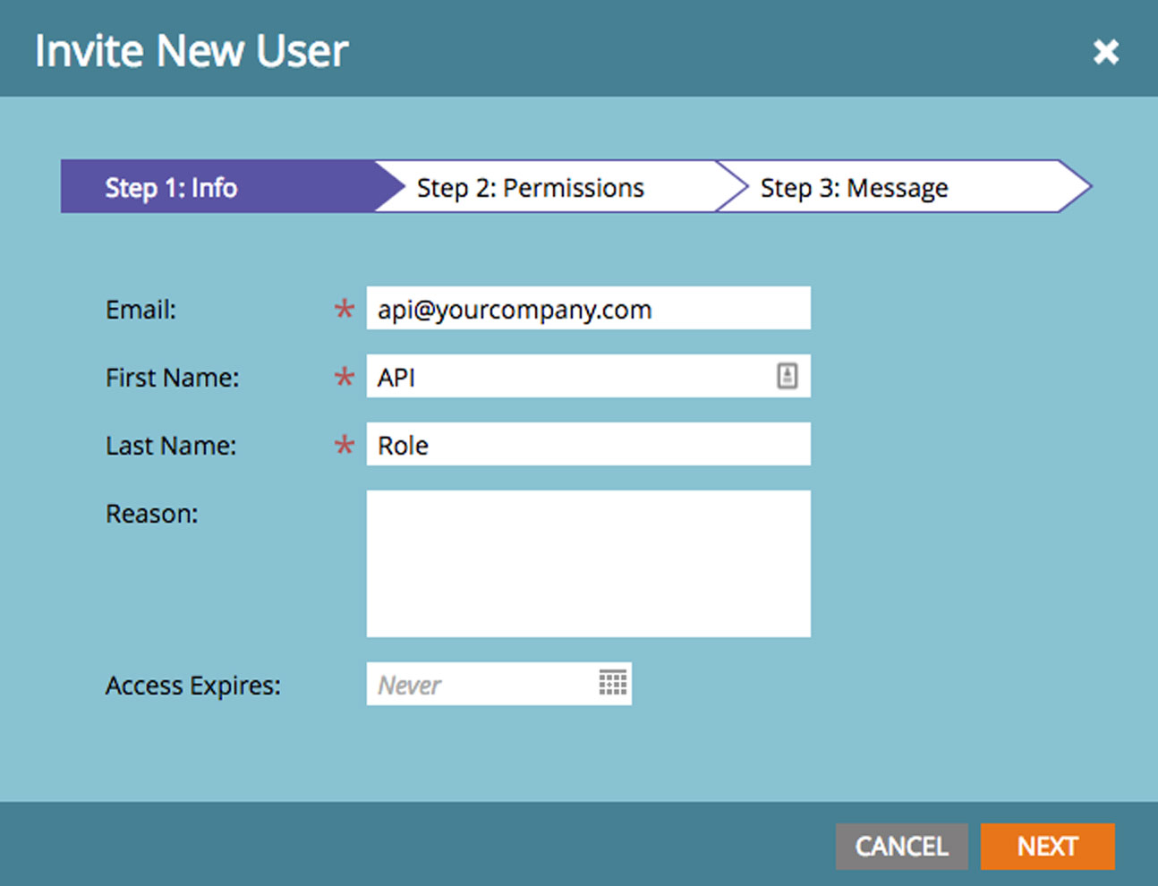 Configure User Basics : Marketo: Add Voice, SMS, Chat, Video, and Email Channels